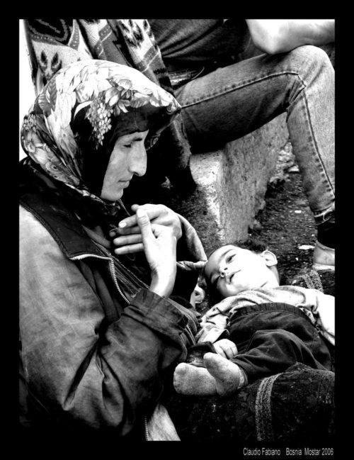 mostar madre e figlio