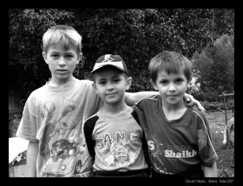 bambini a Goles