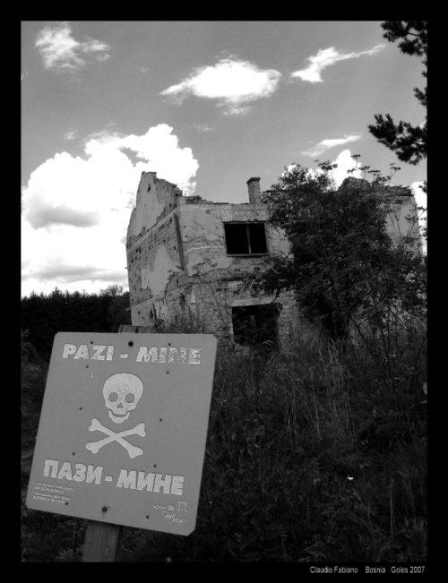 campo minato Bgojno