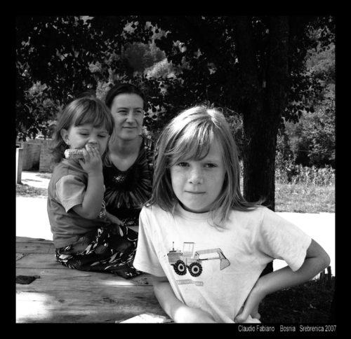famiglia a srebrenica