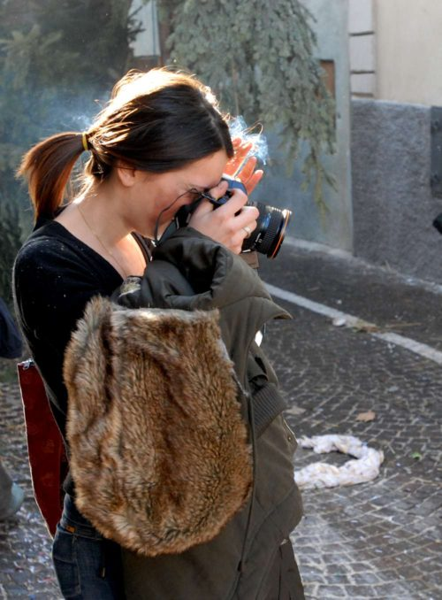 Claudia la fotografa