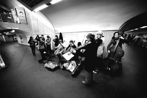 concerto in metro