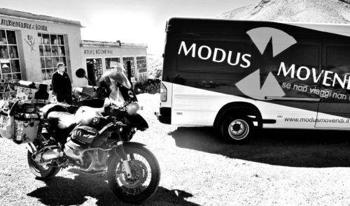 moto e furgone